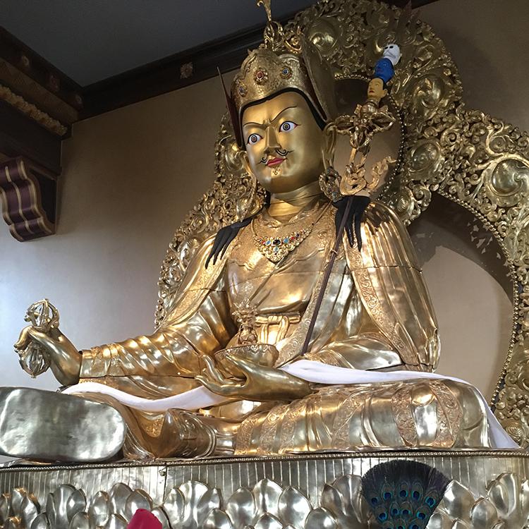 Buddhist statue at the Zen Center Crestone, CO